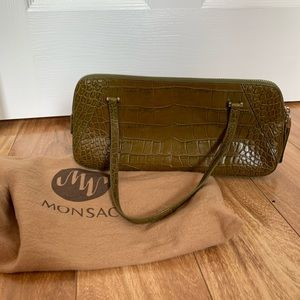 Green Monsac purse
